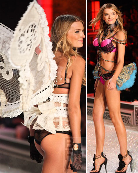 Lily Donaldson 2011 Victoria s Secret Fashion Show