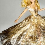 Lily Donaldson Vivienne Westwood dress for the Olympics Closing Ceremony Vogue