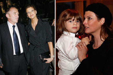 Linda Evangelista Filed For Child Support From Francois Henri Pinault