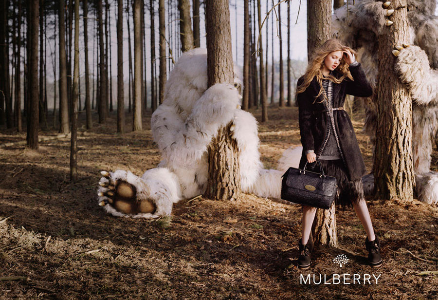 Lindsey Wixson Mulberry Where the Wild Things Are campaign