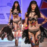 Liu Wen tattooed flapper Victoria s Secret 2012 show