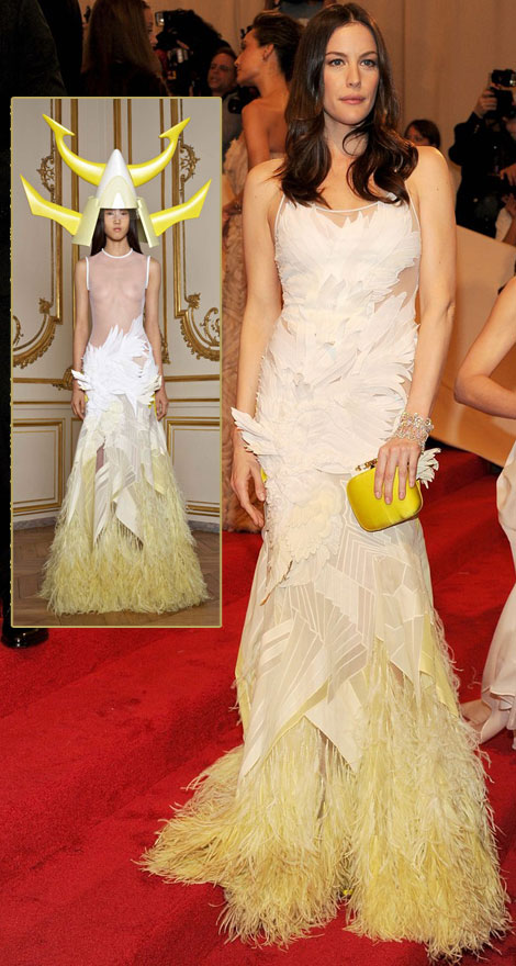 Liv Tyler Givenchy Dress Met Gala 2011