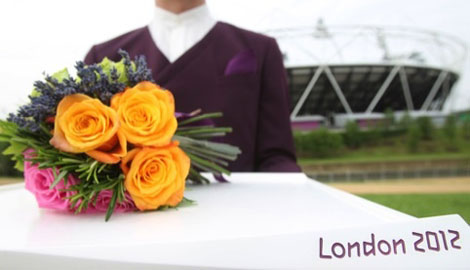 London Olympic Games Victory costumes