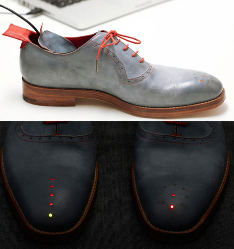 Forget Louboutin, Take The GPS Shoes Instead!