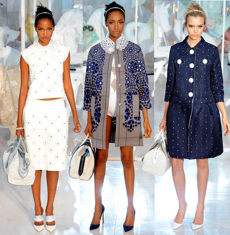 Louis Vuitton Spring Summer 2012 collection