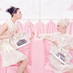 Louis Vuitton Spring Summer 2012 pink sweet ad campaign
