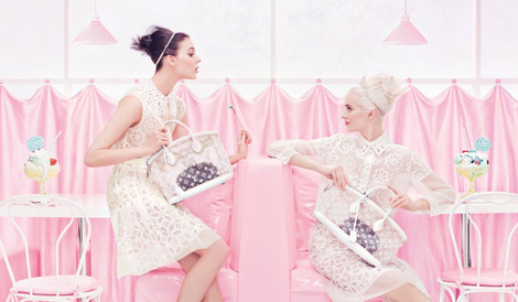 Louis Vuitton Spring Summer 2012 Sweet Ad Campaign