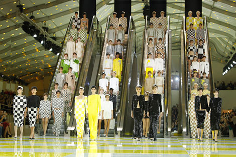 Everybody Loved The Louis Vuitton Spring Summer 2013 Collection!