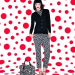 Louis Vuitton Yayoi Kusama collection black and white