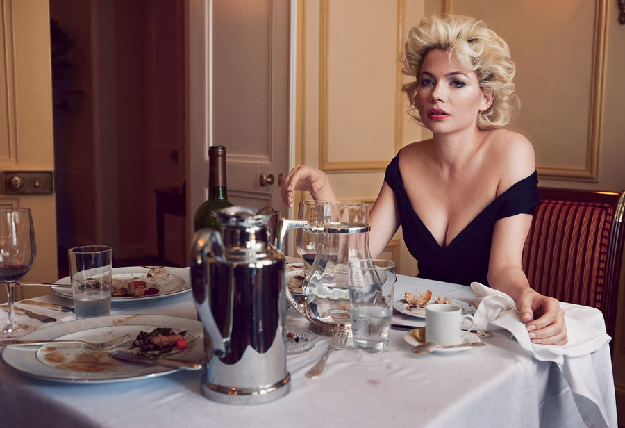 Michelle Williams Marilyn by Annie Leibovitz