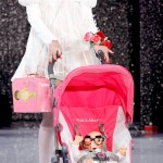 MacLaren Baby Stroller on the catwalk Betsey Johnson Spring 2013