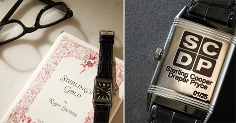 Mad Men Draper watch Jaeger LeCoultre