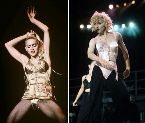 Madonna's New Tour Costumes Designed By Jean Paul Gaultier