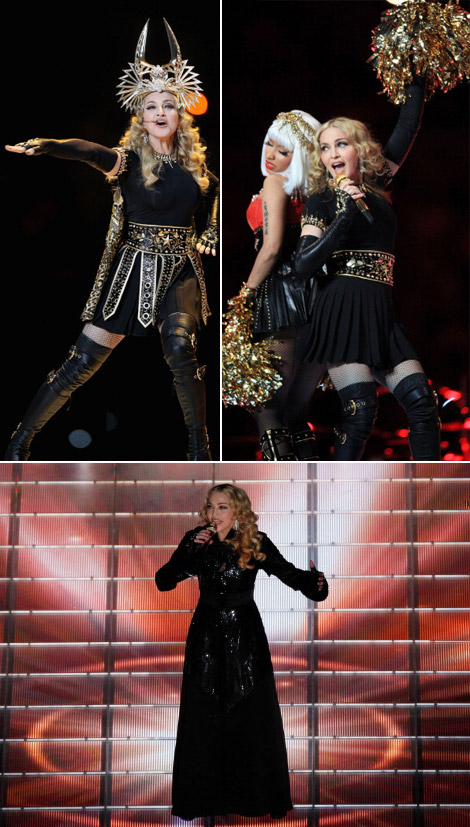 Madonna's Egyptian Givenchy Wardrobe For Super Bowl Performance