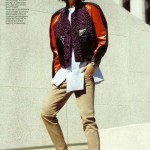 Maison Martin Margiela sneakers Vogue US Arizona Muse