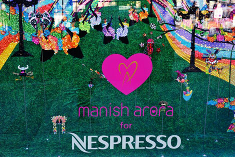 Manish Arora for Nespresso