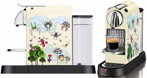 Manish Arora for Nespresso CitiZ machine