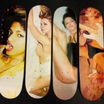 Marc Jacobs Juergen Teller skateboard decks prints