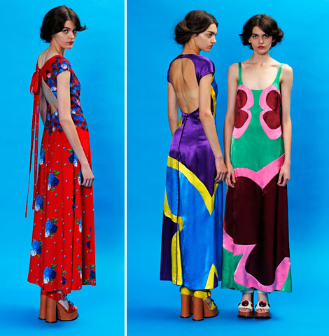 Marc Jacobs colorful collection Resort 2013