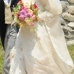Margherita Missoni white wedding dress Giambattista Valli