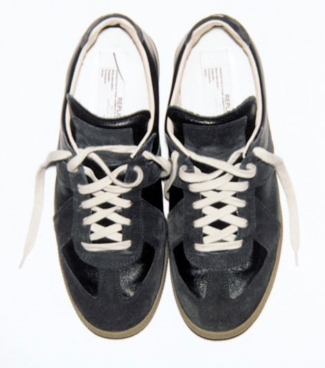 Margiela Replica black sneakers