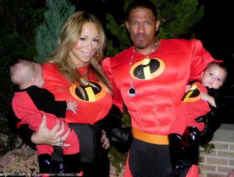 Meet Mariah Carey And Nick Cannon Twins, Monroe And Moroccan!