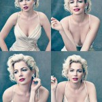 Mariyn Monroe by Michelle Williams for Vogue