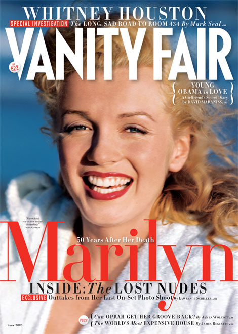 Marilyn Monroe never before seen pictures Vanity Fair June 2012