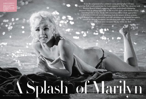 Marilyn Monroe Covers Vanity Fair. Again