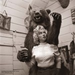 Marilyn Monroe with bear