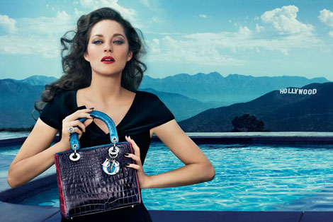 Marion Cotillard's Christian Dior Hollywood Lady Dior Ads