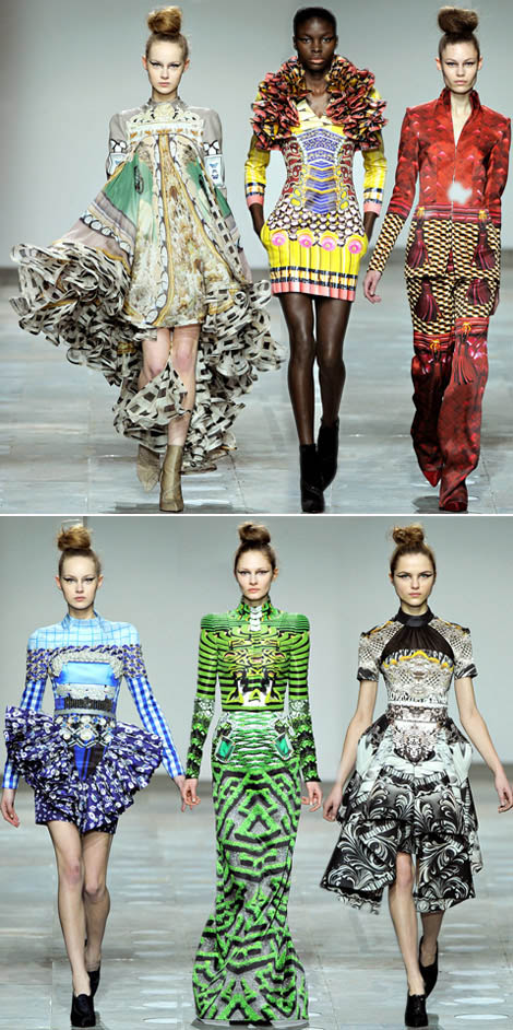 Mad Print: Mary Katrantzou Fall Winter 2012 2013 Collection