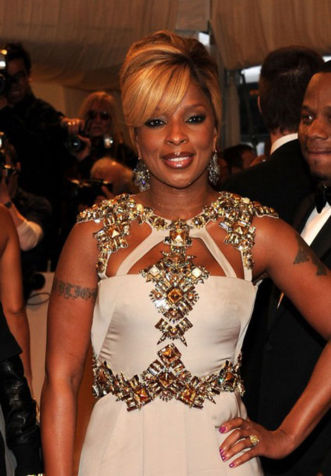 Mary J Blige Gucci dress Met Gala 2011