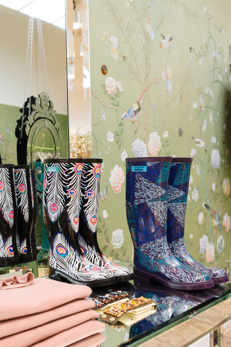 Matthew Williamson Havaianas wellies