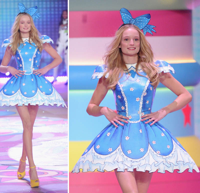 Victoria's Secret 2012 Fashion Show: Maud Welzen's Scary Alice