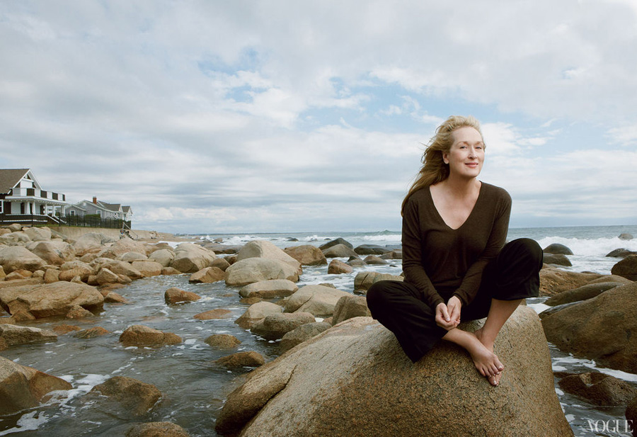 Meryl Streep Vogue January 2012 photo Annie Leibovitz