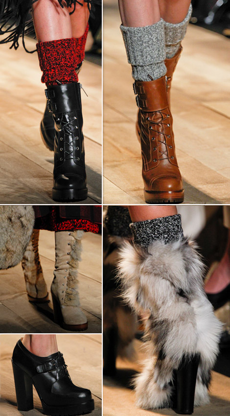 Michael Kors Fall Winter 2012 2013 boots