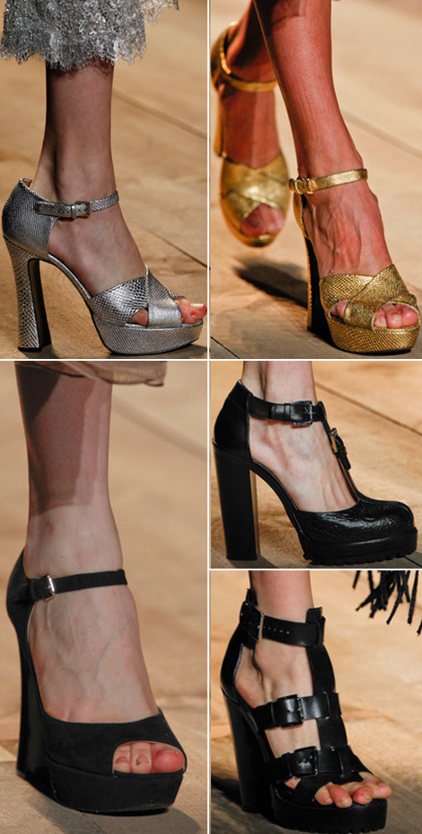 Michael Kors Fall Winter 2012 2013 sandals