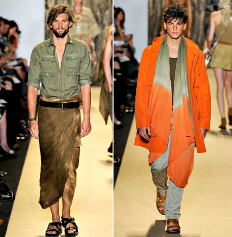 Michael Kors spring summer 2012 men collection