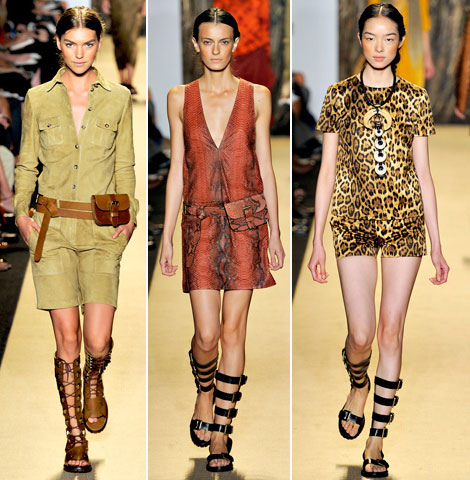 Michael Kors animal print spring summer 2012