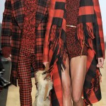 Michael Kors Fall Winter 2012 2013 tartan
