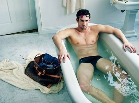 Michael Phelps Louis Vuitton Core Values ad campaign