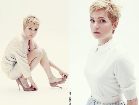 Michelle Williams Elle UK December 2011