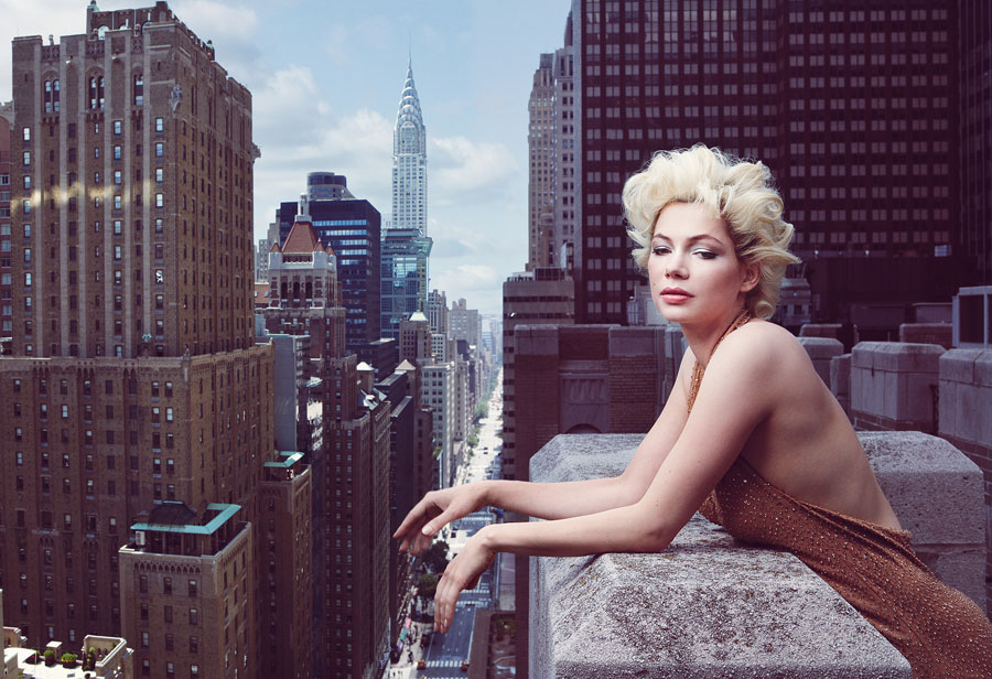 Michelle Williams Vogue October 2011
