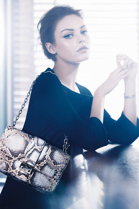 How Do You Like Mila Kunis Advertising For Dior ?
