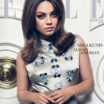 Mila Kunis Elle UK cover