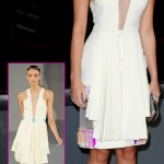 Miley Cyrus white dress 2012 People s Choice Awards