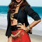 Miranda Kerr heavy chains Elle October 2011