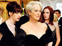 Miranda Priestly and her assistants
