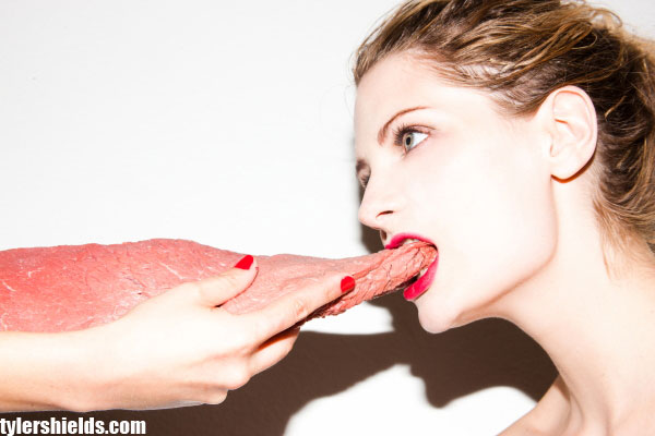 Mischa Barton meat photos by Tyler Shields